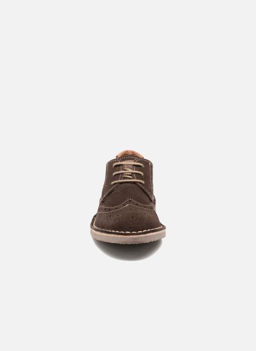 Zapatos con cordones Xti Blancha 53947 Marrón vista del modelo