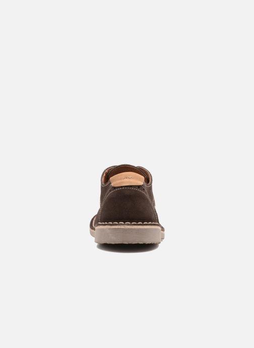 Zapatos con cordones Xti Blancha 53947 Marrón vista lateral derecha