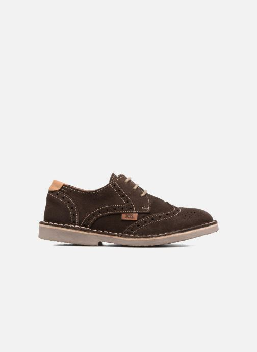 Zapatos con cordones Xti Blancha 53947 Marrón vistra trasera