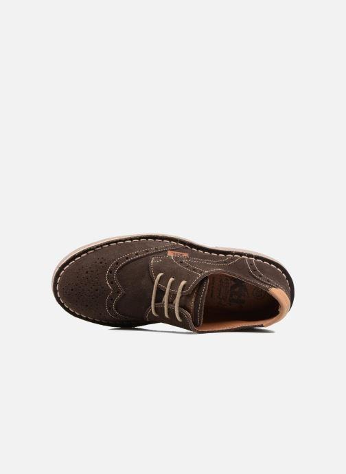 Zapatos con cordones Xti Blancha 53947 Marrón vista lateral izquierda