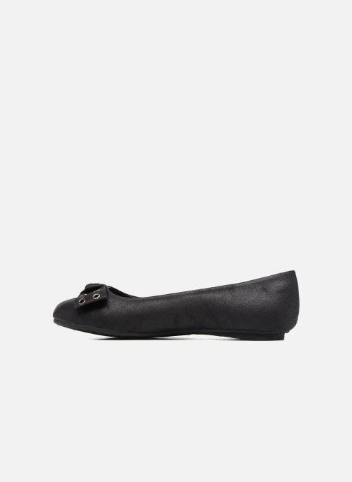 Ballerinas Xti Claira 53971 schwarz ansicht von vorne