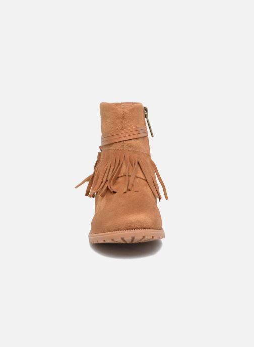 Ankle boots Xti Clementina 53992 Brown model view