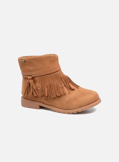 Ankle boots Xti Clementina 53992 Brown detailed view/ Pair view