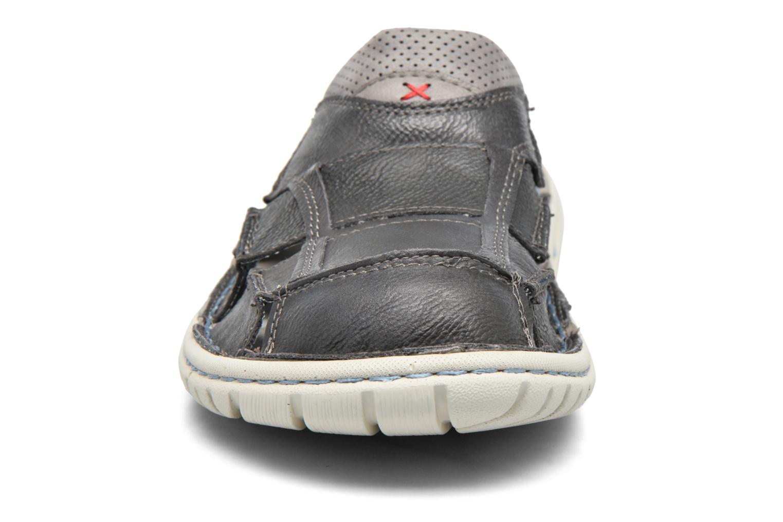 Sandales et nu-pieds Mustang shoes yri Gris vue portées chaussures
