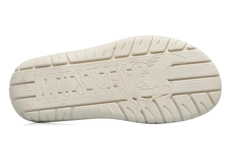 Sandales et nu-pieds Mustang shoes yri Gris vue haut