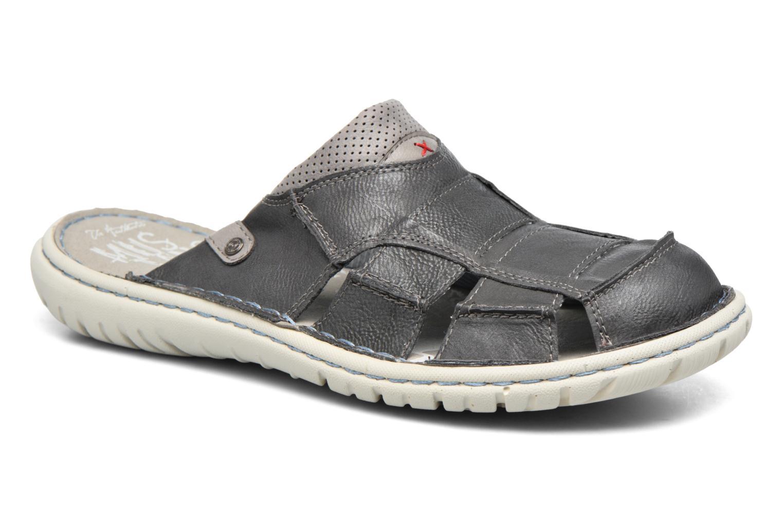 Sandales et nu-pieds Mustang shoes yri Gris vue détail/paire