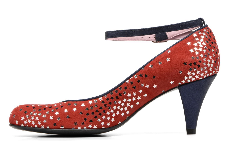 Zapatos de tacón Annabel Winship Queen Rojo vista de frente