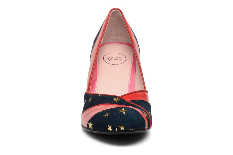 Escarpins Annabel Winship Umathurman Rouge vue portées chaussures