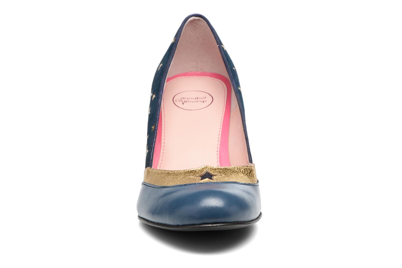 Escarpins Annabel Winship Ugotthelook Bleu vue portées chaussures