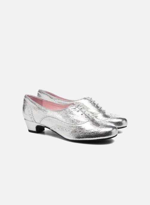 Chaussures à lacets Annabel Winship Uber Argent vue 3/4