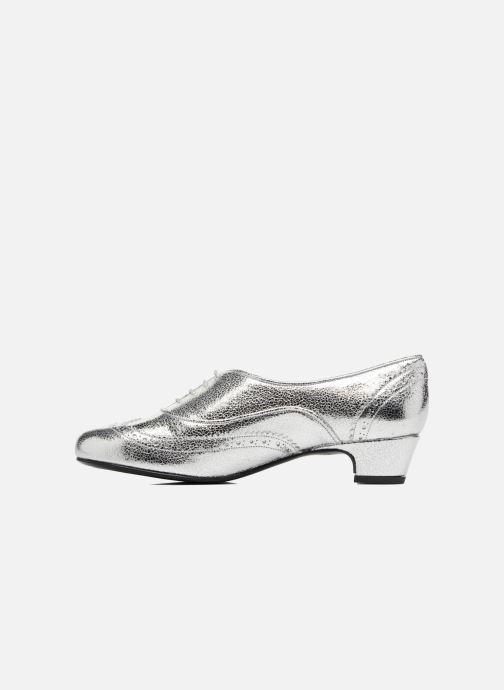 Chaussures à lacets Annabel Winship Uber Argent vue face
