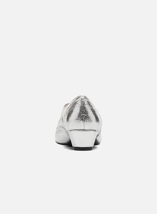 Chaussures à lacets Annabel Winship Uber Argent vue droite