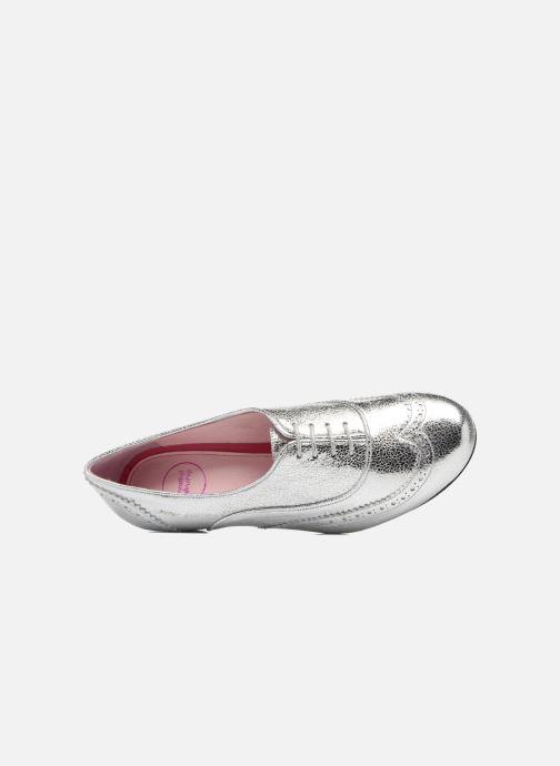 Chaussures à lacets Annabel Winship Uber Argent vue gauche