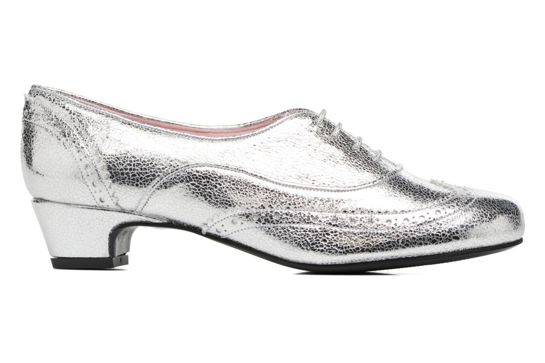 Zapatos con cordones Annabel Winship Uber Plateado vistra trasera