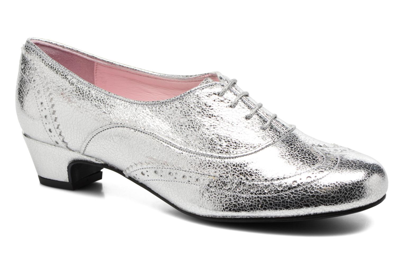 Zapatos con cordones Annabel Winship Uber Plateado vista de detalle / par