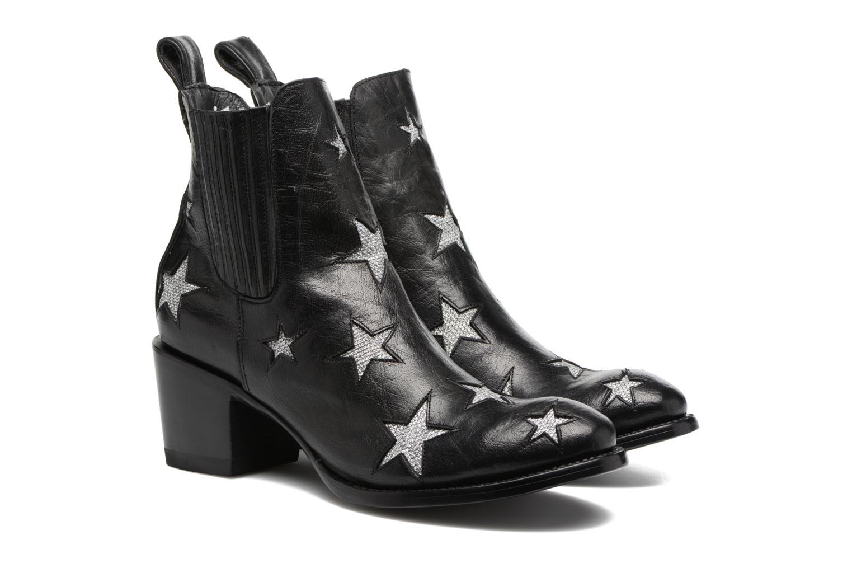 Bottines et boots Mexicana Circus 2 Noir vue 3/4