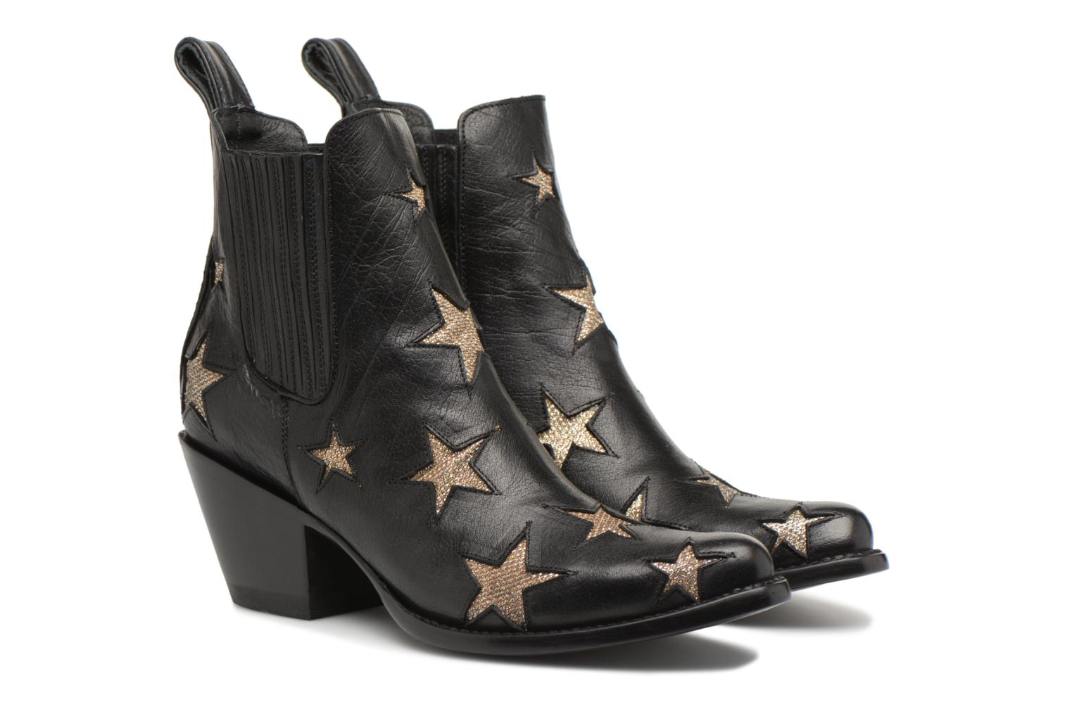 Ankle boots Mexicana Circus 2 Black 3/4 view