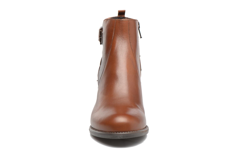 Bottines et boots Georgia Rose Aloas Marron vue portées chaussures