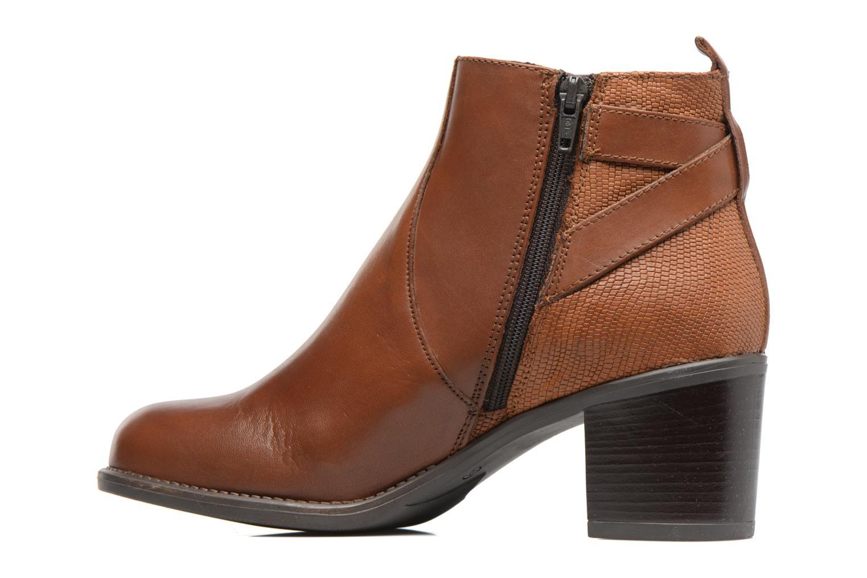 Bottines et boots Georgia Rose Aloas Marron vue face