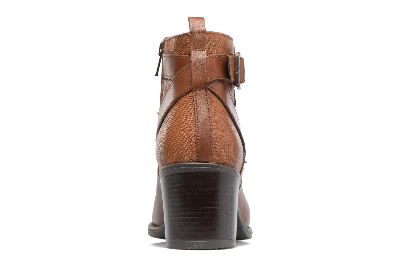 Bottines et boots Georgia Rose Aloas Marron vue droite