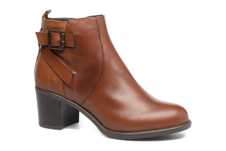 Bottines et boots Georgia Rose Aloas Marron vue détail/paire