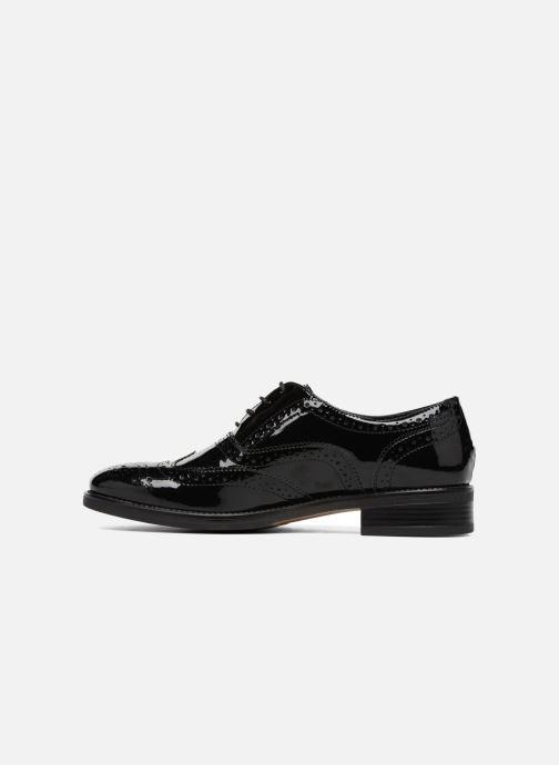 Zapatos con cordones Georgia Rose Aleria Negro vista de frente