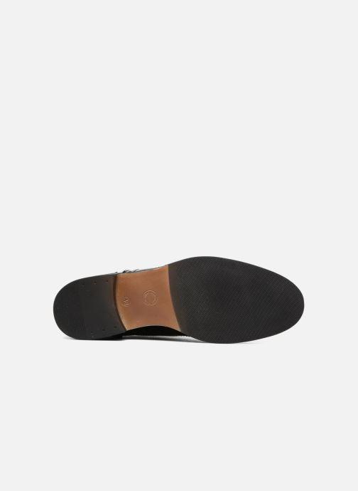 Zapatos con cordones Georgia Rose Aleria Negro vista de arriba