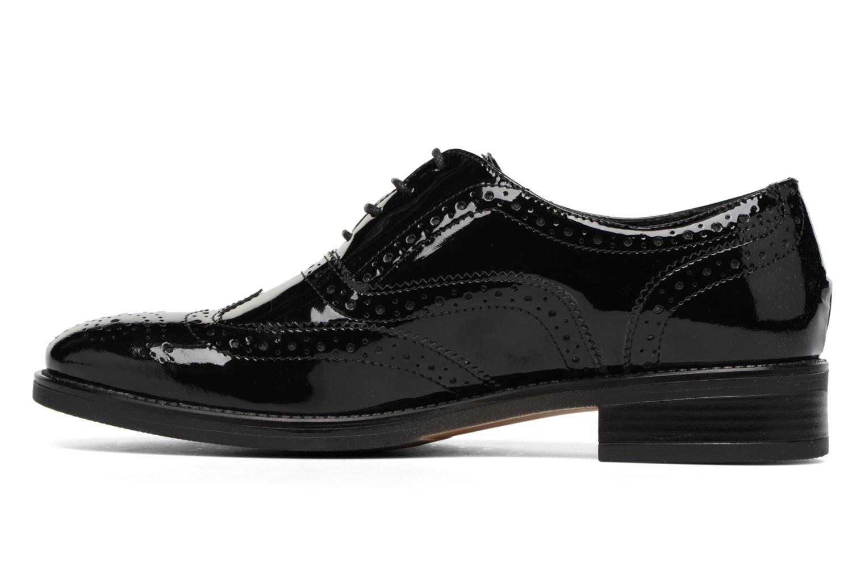 Chaussures à lacets Georgia Rose Aleria Noir vue face