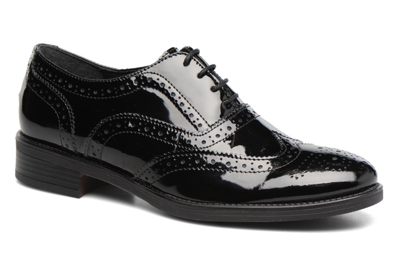 Chaussures à lacets Georgia Rose Aleria Noir vue détail/paire