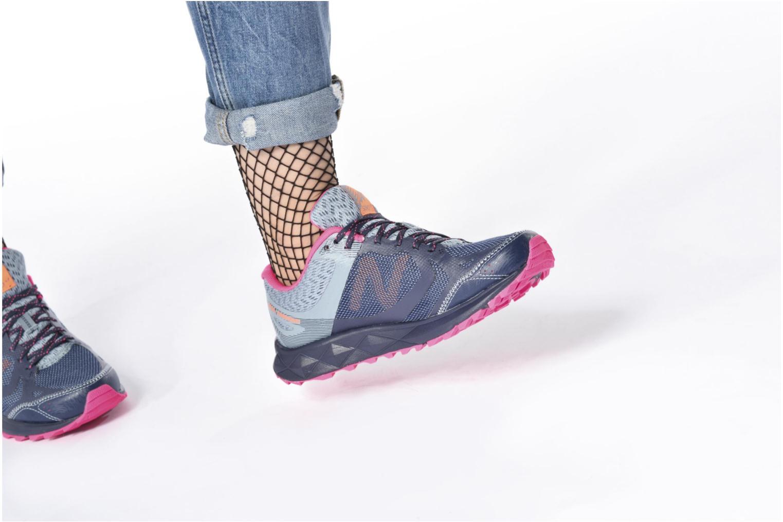 Zapatillas de deporte New Balance WT590L Azul vista de abajo