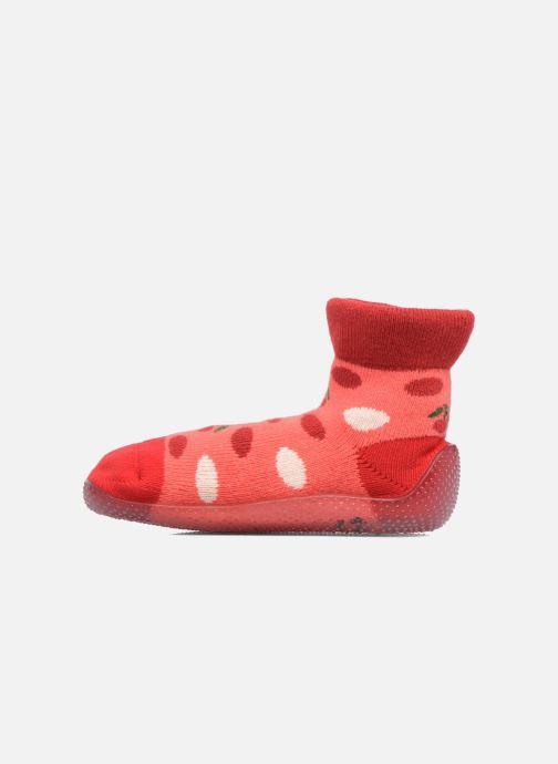 Chaussettes et collants SARENZA POP Chaussons Chaussettes POP  Slippers Rouge vue face