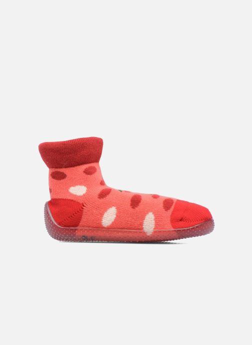Chaussettes et collants SARENZA POP Chaussons Chaussettes POP  Slippers Rouge vue derrière