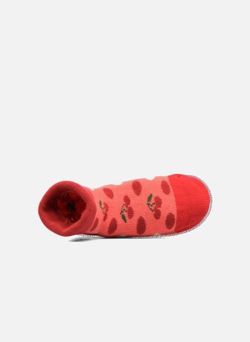 Chaussettes et collants SARENZA POP Chaussons Chaussettes POP  Slippers Rouge vue gauche