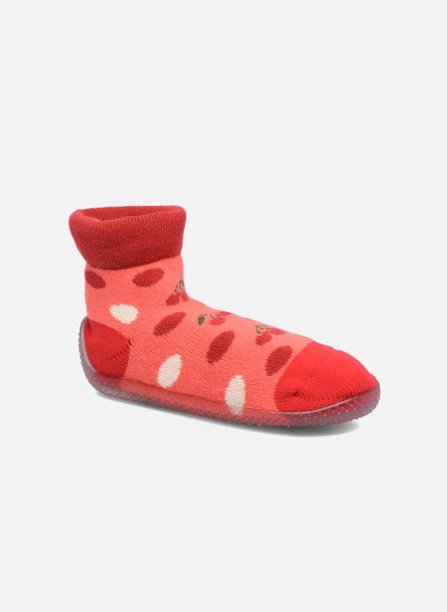 Socks & tights SARENZA POP Chaussons Chaussettes POP  Slippers Red detailed view/ Pair view