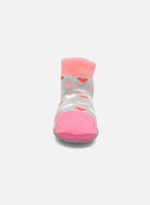 Calze e collant SARENZA POP Chaussons Chaussettes POP  Slippers Rosa modello indossato