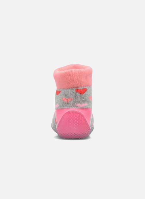 Socken & Strumpfhosen SARENZA POP Chaussons Chaussettes POP  Slippers rosa ansicht von rechts
