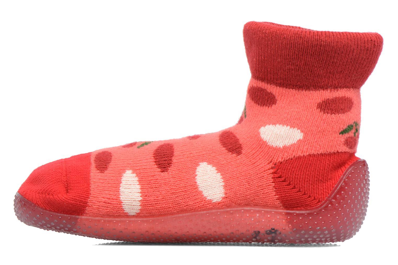 Sokken en panty's SARENZA POP Chaussons Chaussettes POP  Slippers Rood voorkant