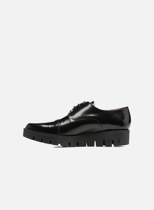 Elizabeth Millau Noir Stuart À Lacets Chaussures 308 rWxodCeB