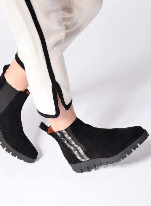 Bottines et boots Elizabeth Stuart Mirot 500 Noir vue bas / vue portée sac