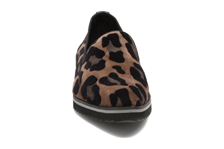 Mocassins Elizabeth Stuart Vulmy 517 Marron vue portées chaussures