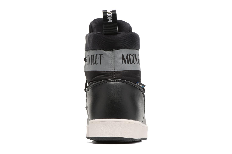 Zapatillas de deporte Moon Boot Neil W Negro vista lateral derecha