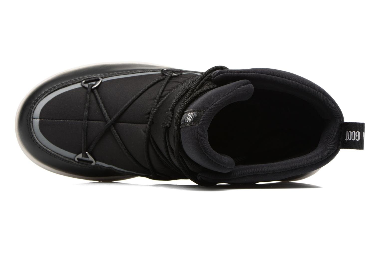 Zapatillas de deporte Moon Boot Neil W Negro vista lateral izquierda