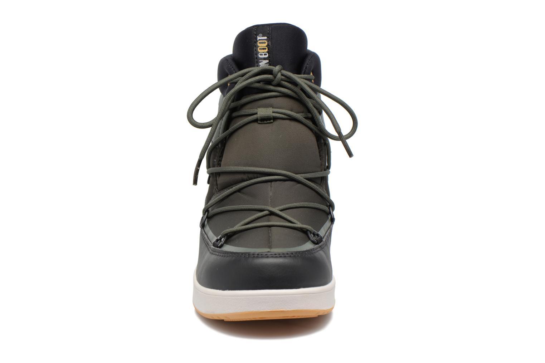 Chaussures de sport Moon Boot Neil W Vert vue portées chaussures