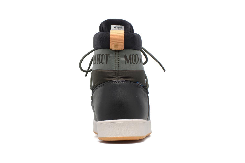 Chaussures de sport Moon Boot Neil W Vert vue droite