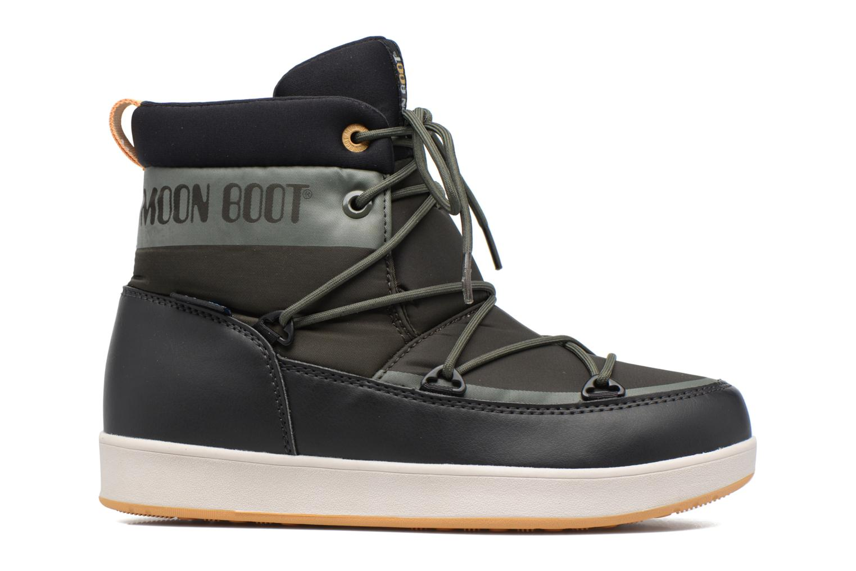 Chaussures de sport Moon Boot Neil W Vert vue derrière