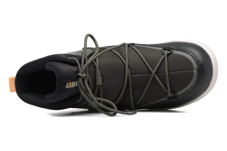 Chaussures de sport Moon Boot Neil W Vert vue gauche