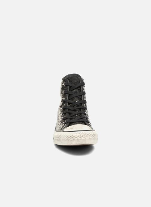 Chuck Thunder Hi Converse Star All black buff Distressd Taylor wN0mv8n