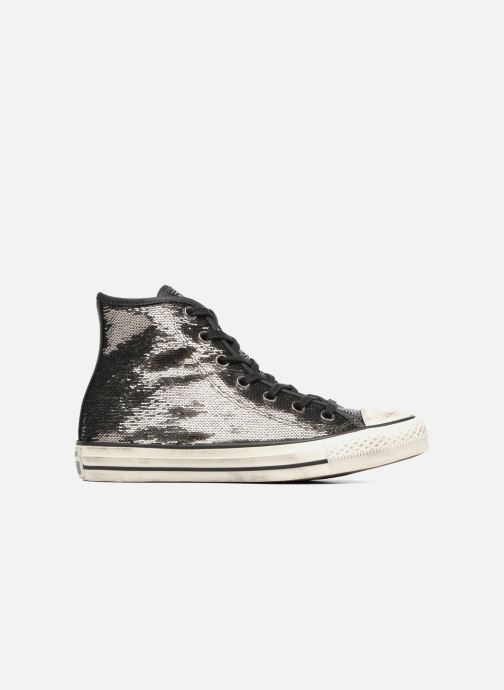 Sneaker Converse Chuck Taylor All Star Distressd Hi grau ansicht von hinten