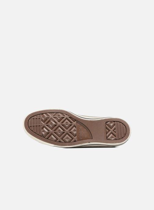 Sneaker Converse Chuck Taylor All Star Distressd Hi grau ansicht von oben