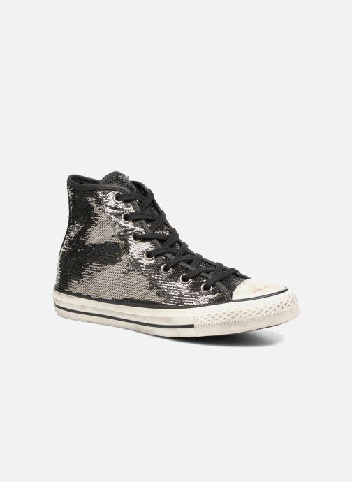 Sneaker Converse Chuck Taylor All Star Distressd Hi grau detaillierte ansicht/modell